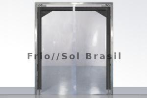 portas flex em pvc transparente para supermercados acougues frigorificos e laboratorios